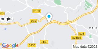 Plan Carte Point P à Vallauris