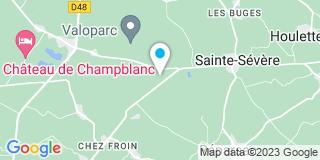 Plan Carte Landes Mickael à Reparsac