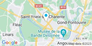 Plan Carte Astic'Verandas à Saint-Yrieix-sur-Charente