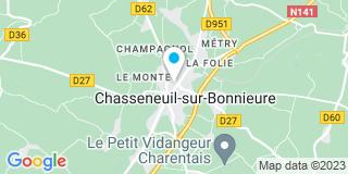 Plan Carte Menuiserie Mandon à Chansseneuil Sur Bonnieure