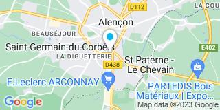 Plan Carte Talvard à Alençon
