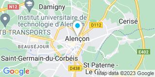 Plan Carte M.P.O Fenêtres à Alençon