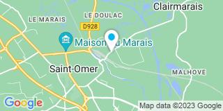 Plan Carte Duvauchelle à Saint-Omer