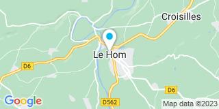 Plan Carte Point P à Thury-Harcourt