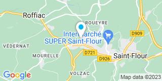 Plan Carte Point P à St Flour