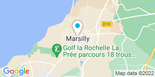 Plan Carte Escabelle à Marsilly