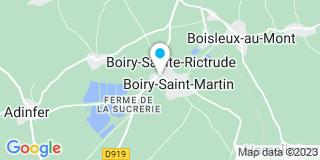 Plan Carte Roussel à Boiry-Sainte-Rictrude