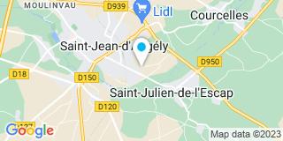 Plan Carte Caillaud et Fils à Saint-Jean-D'Angely