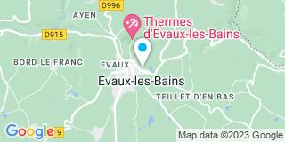 Plan Carte Tout Faire Matériaux à Evaux-les-Bains