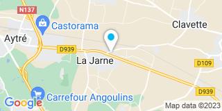 Plan Carte ID Menuiseries à La Jarne