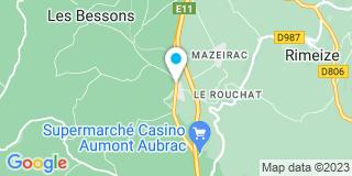 Plan Carte Chalmeton à Saint-Chely-d'Apcher