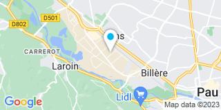 Plan Carte Chausson Matériaux à Lons