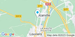 Plan Carte Point P à Louviers