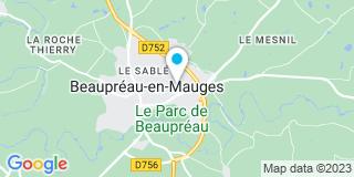 Plan Carte Atelier Peau à Beaupreau