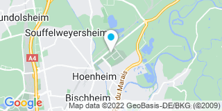 Plan Carte Gallodana à Hoenheim