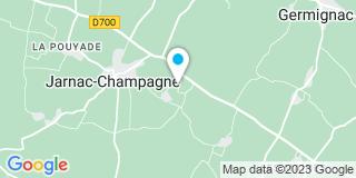Plan Carte Thoreau Laurent Menuiserie à Jarnac-Champagne