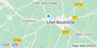 Plan Carte Tristan Mineau à Chef-Boutonne