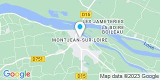 Plan Carte Gallard Philippe à Montjean-sur-Loire