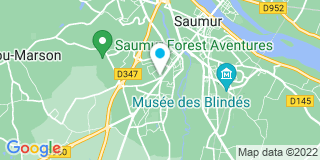 Plan Carte Cailleaud à Saumur