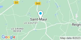 Plan Carte Aubailly Jean-Claude à St Maur