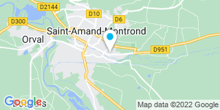 Plan Carte Alucentre à Saint-Armand-Montrond