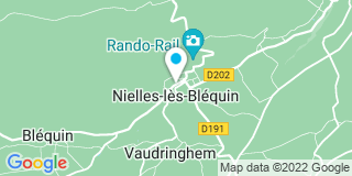 Plan Carte Les Ateliers du Bléquin Mille à Nielles-lès-Bléquin