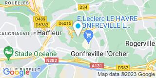 Plan Carte Gnc à Gonfreville-l'Orcher