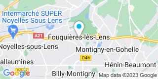 Plan Carte Sauvage Dautricourt à Fouquières-lez-Lenz