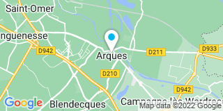 Plan Carte Menuiseries 62 à Arques