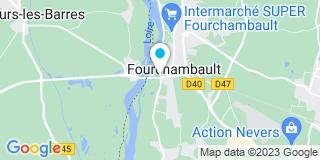 Plan Carte Point P à Fourchambault