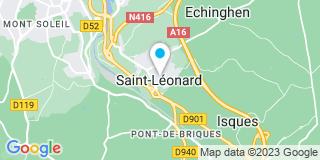 Plan Carte Bois Concept Littoral à Saint-Léonard