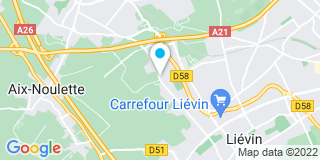 Plan Carte Sermalu à Lievin