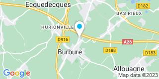 Plan Carte Artois Services à Lillers