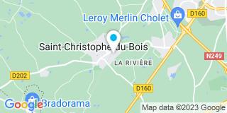 Plan Carte Al men stor à Saint-Christophe-du-Bois
