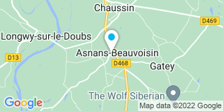 Plan Carte Coyer Noël à Asnans Beauvoisin