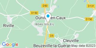 Plan Carte Carpentier François à ourville-en-Caux