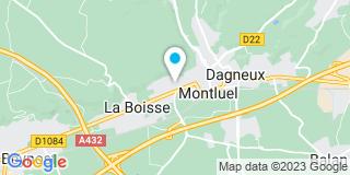 Plan Carte Bricomarché à La Boisse