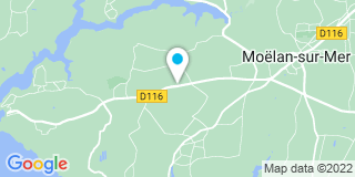 Plan Carte Big Mat à Moëlan-sur-Mer