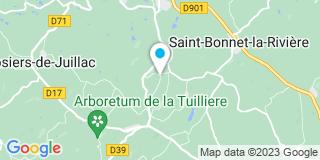 Plan Carte David Auclair à Saint-Bonnet-la-Rivière