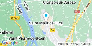 Plan Carte Berganin à Saint-Maurice-l'Exil