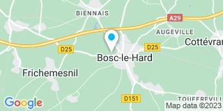 Plan Carte Duval Bruno Menuiserie à Bosc-le-Hard