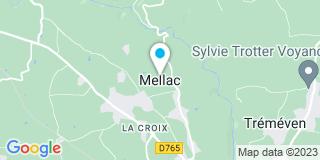 Plan Carte Bricomarché à Mellac