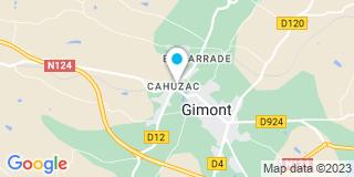 Plan Carte Menuiserie Hautier à Chamalières