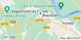 Plan Carte Bricomarché à Beautiran