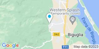 Plan Carte Société Industrielle Générale de Menuiserie et Agencement à Biguglia
