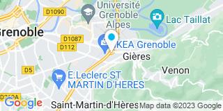 Plan Carte Dauphinoise De Menuiserie à Saint-Martin-d'Hères