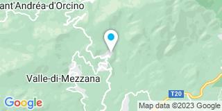 Plan Carte 2ZN à Sarrola-Carcopino