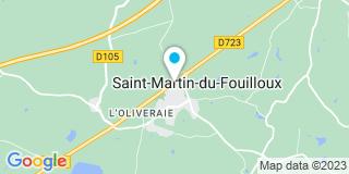 Plan Carte Chesneau à Saint-Martin-du-Fouilloux