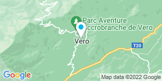 Plan Carte Miroiterie Orsoni à Vero