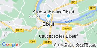 Plan Carte Menuiserie de l'Oison à Caudebec-lès-Elbeuf